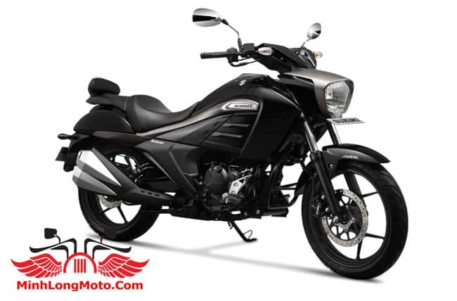 Suzuki Intruder 150 màu Đen bạc