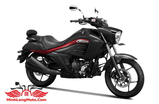 Suzuki Intruder 150 màu Đen viền đỏ