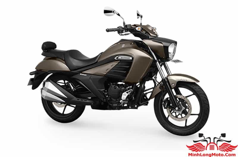 Suzuki Intruder 150 màu ghi vàng đen