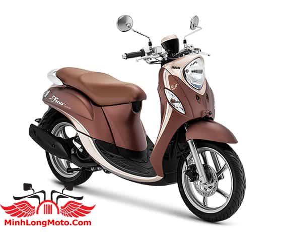 Yamaha Fino Premium 125 màu Nâu caramel