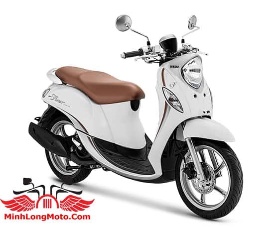 Yamaha Fino Premium 125 màu Trắng Latte