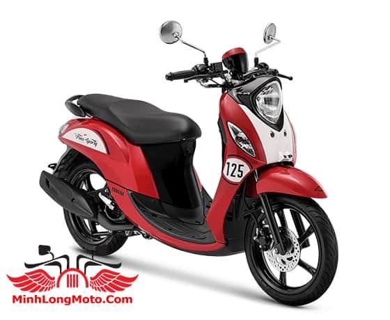 Yamaha Fino Sporty 125 màu đỏ