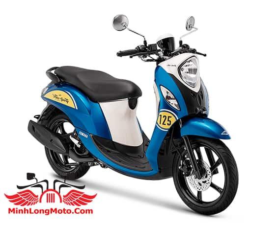 Yamaha Fino Sporty 125 màu xanh