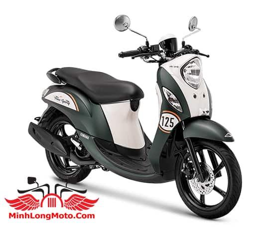 Yamaha Fino Sporty 125 màu xanh lục