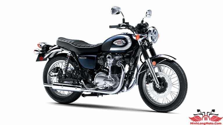 Kawasaki W800 màu Xanh mới