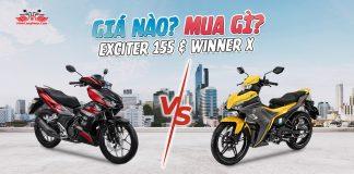 So sánh Exciter 155 và Winner X