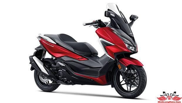 Honda Forza 350 màu Đỏ Đen