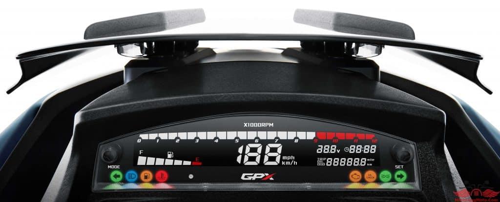 Đồng hồ của GPX Drone