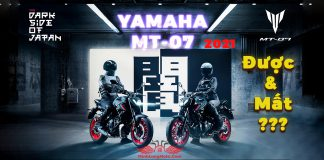 Yamaha MT-07 2021 - The Dark Side Of Japan