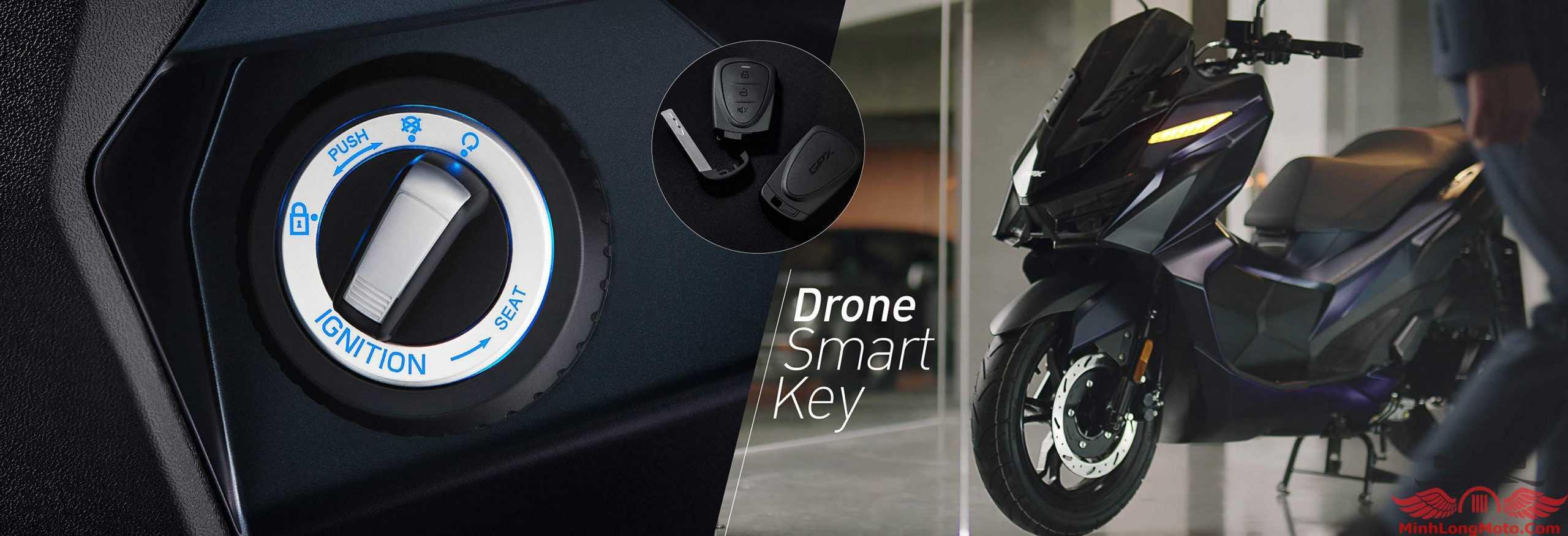 chìa khóa smarkey của GPX Drone