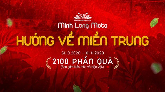 Hướng về miền Trung cùng Minh Long Moto