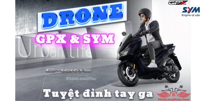 Xe GPX Drone 150 do GPX cùng SYM sản xuất