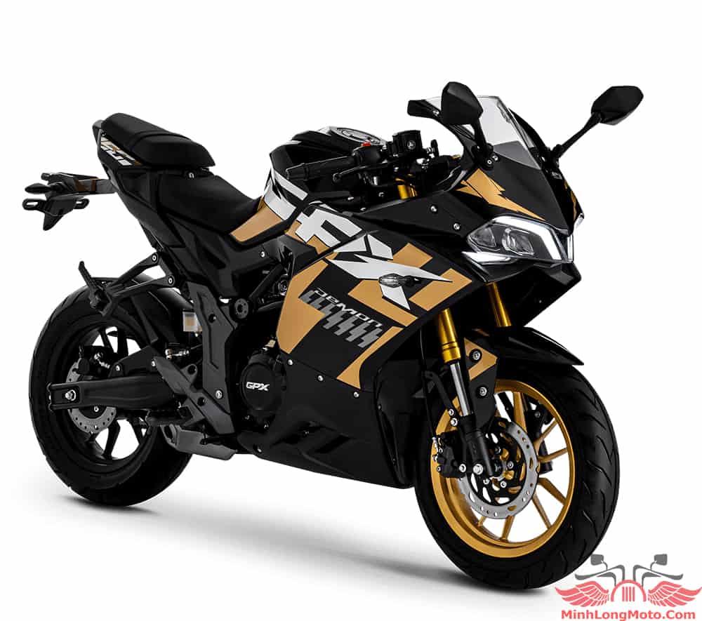 GPX Demon 150GR Fi màu Vàng Đen