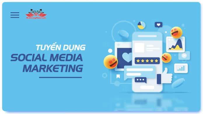 tuyển dụng social media manager