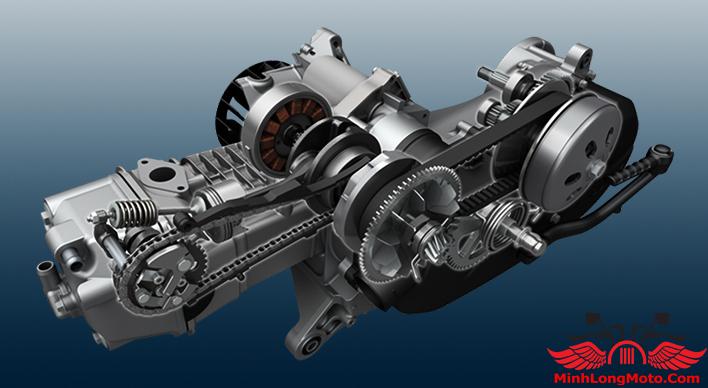 Động cơ Suzuki Burgman 125