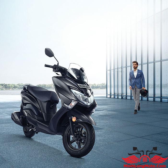thiết kế Suzuki Burgman 125