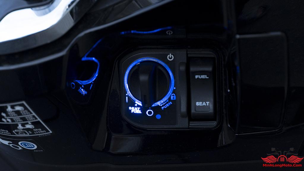 hệ thống khóa xe PCX 160