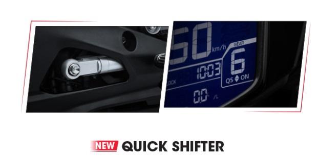 Quick Shifter trên CBR250RR SP QS