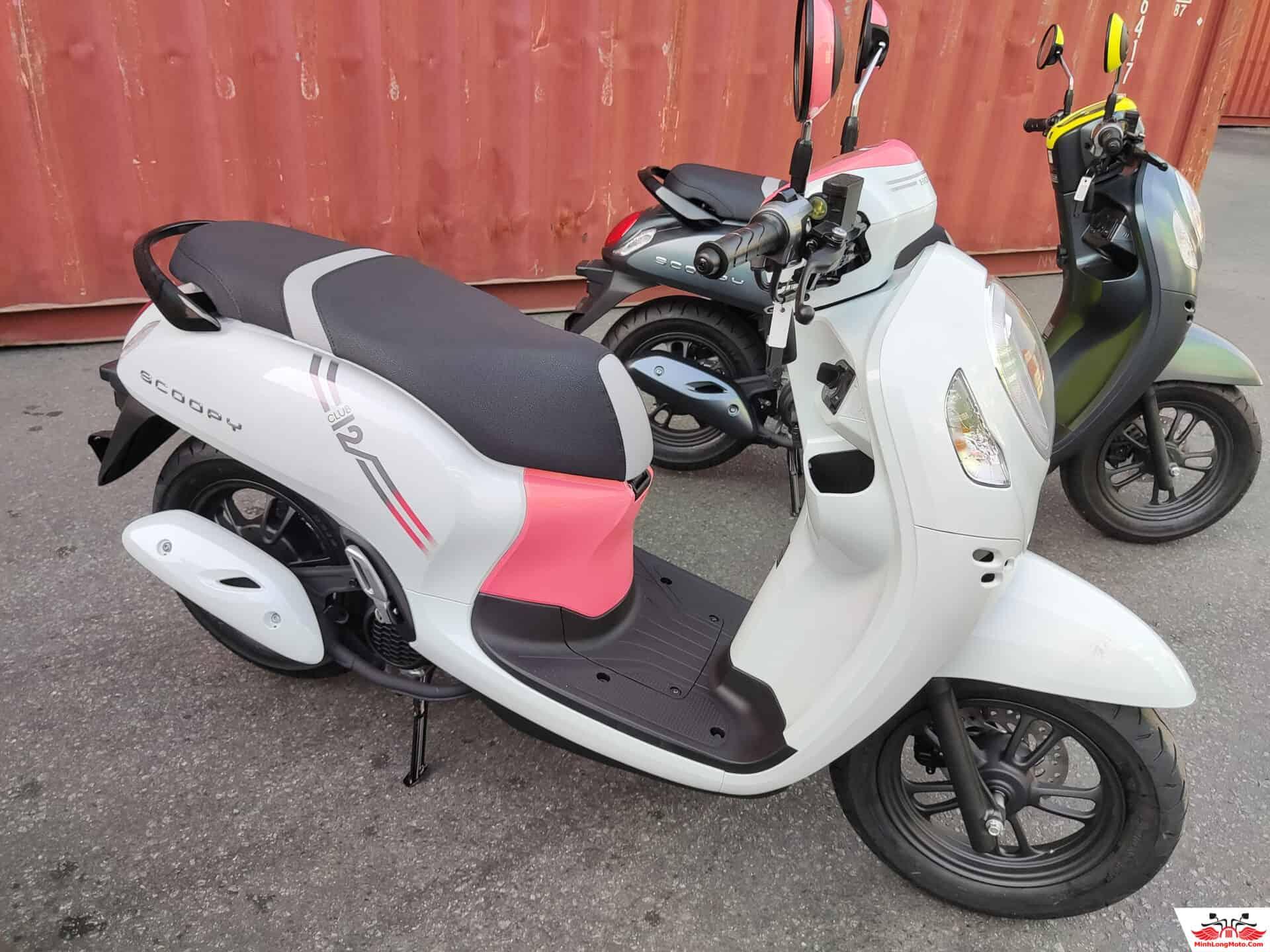 Honda Scoopy Thái tại triển lãm