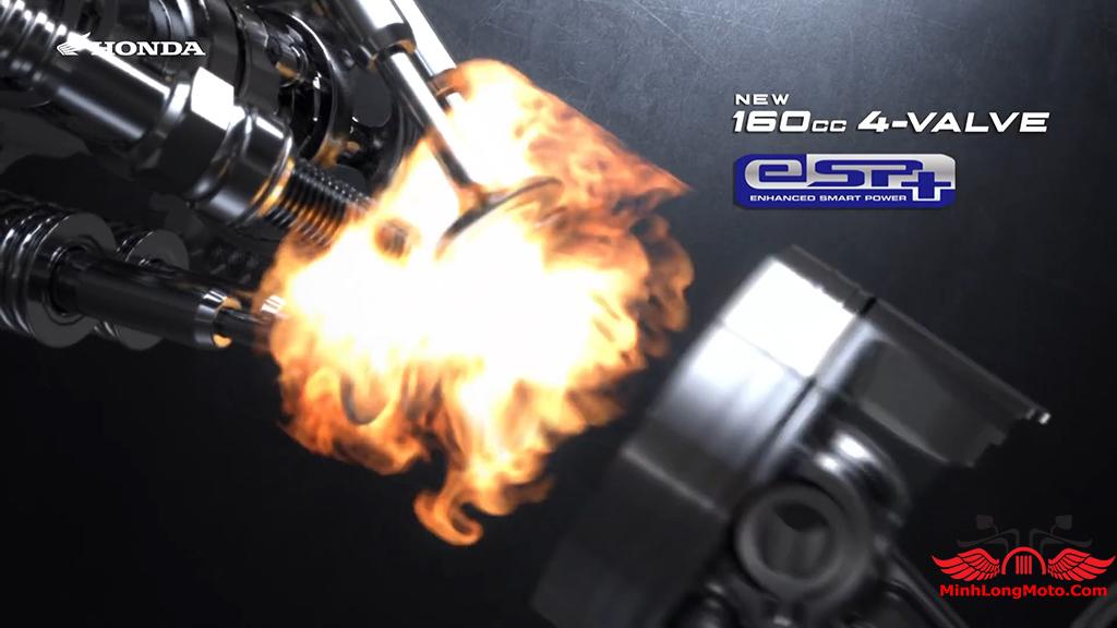 Bướm ga PCX 160 được tinh chỉnh