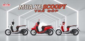 Honda Scoopy trả góp