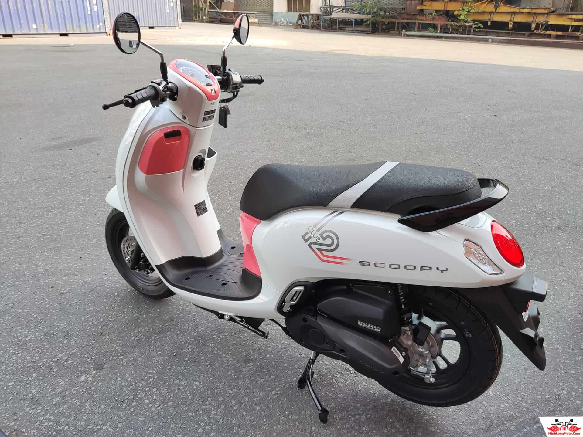 khung xe scoopy thái