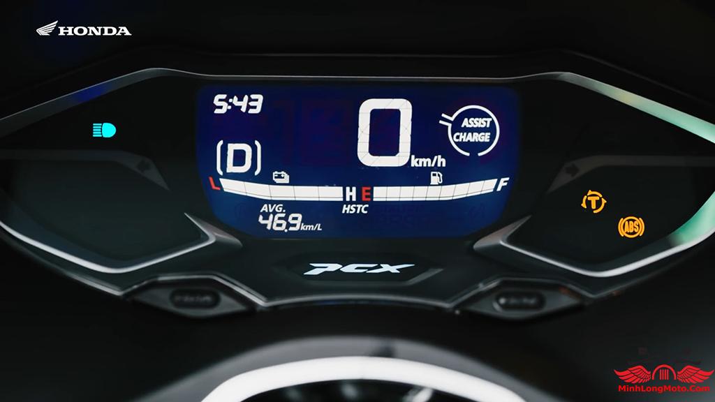 chế độ lái D mode của pcx 160
