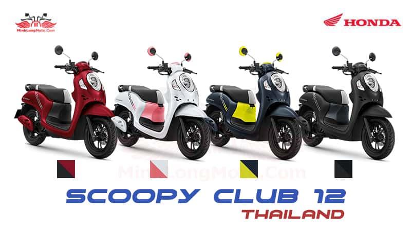 Màu Honda Scoopy Thái