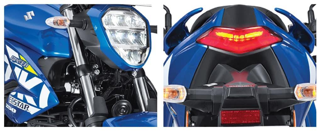 Đèn xe Suzuki Gixxer 250