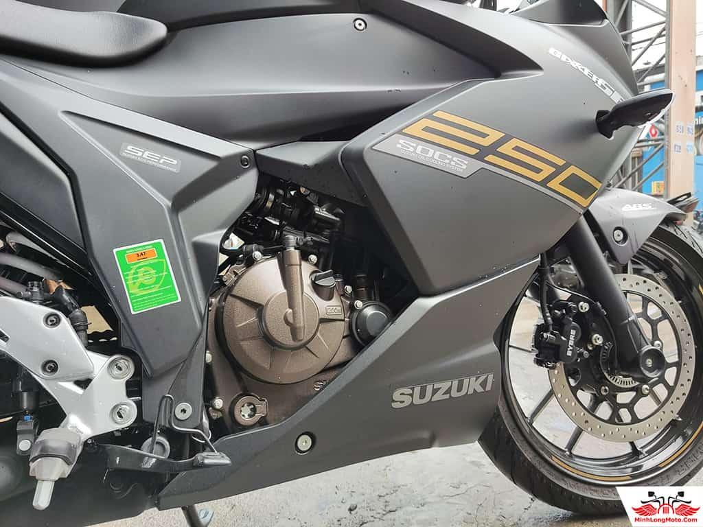 Động cơ Gixxer SF250