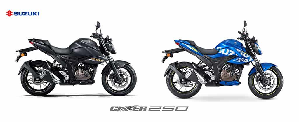 Màu Suzuki Gixxer 250