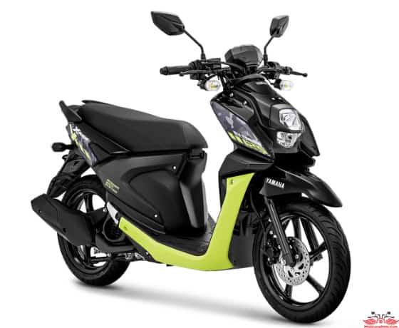 X Ride 125 màu Đen