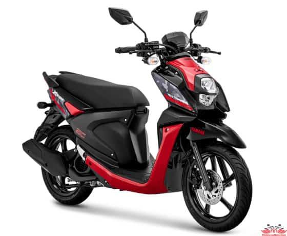 X Ride 125 màu Đỏ