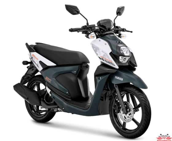X Ride 125 màu Trắng